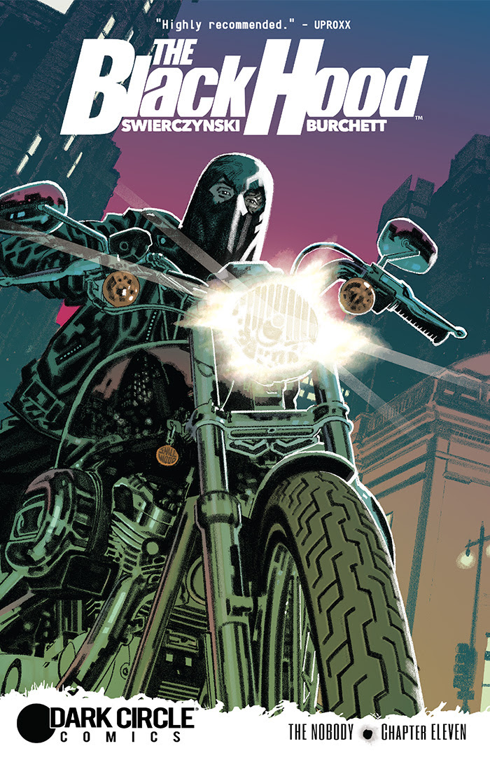 Black Hood #11 cover by Greg Smallwood