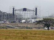 Así avanzan los preparativos para el concierto organizado por el multimillonario británico Richard Branson en la frontera con Venezuela.