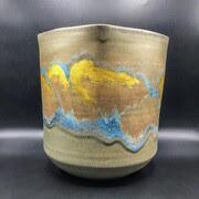Vaso japonês importante pelo famoso mestre Potter Taniguchi Ryōzō