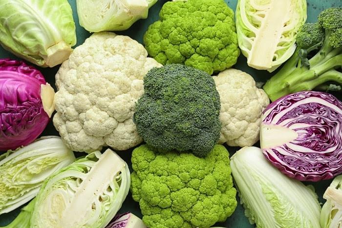bông cải trắng, súp lơ