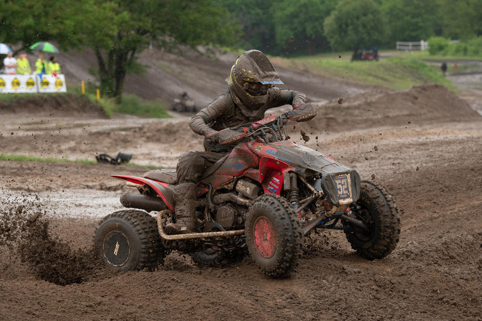 Cody Ford earned his first AMA Pro ATV podium with 3-6 moto scores.