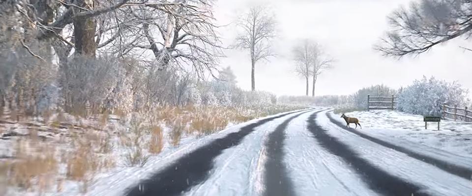 Snow hazard perception clip