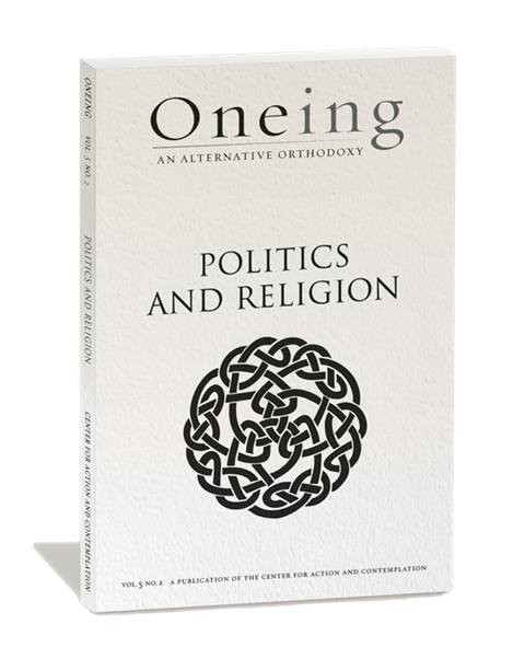 An image of the cover Oneing: Politics and Religion