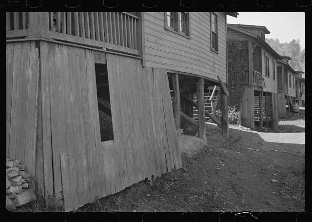 [Untitled photo, possibly related to: Relief check, Scotts Run, West Virginia]