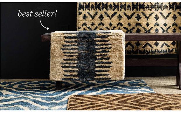 Best Seller! | Shop Fez Hand Knotted Jute Rug