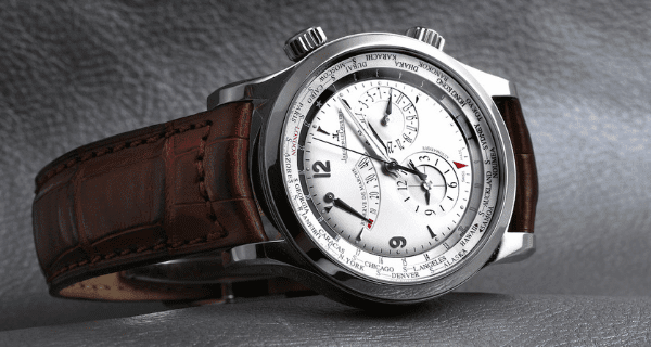 JLC Master World Geographic Mens Watch