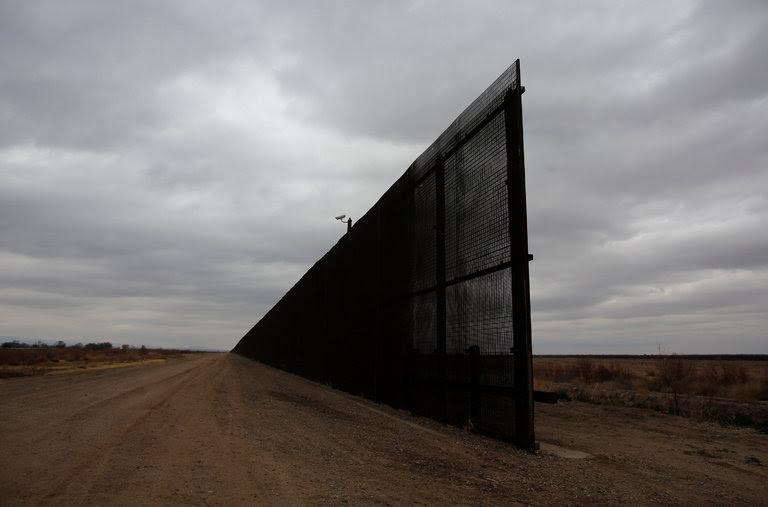 La valla fronteriza en El Paso, Texas
