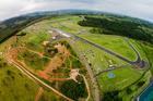 Vista aérea do Autódromo do Velo Città (Divulgação)