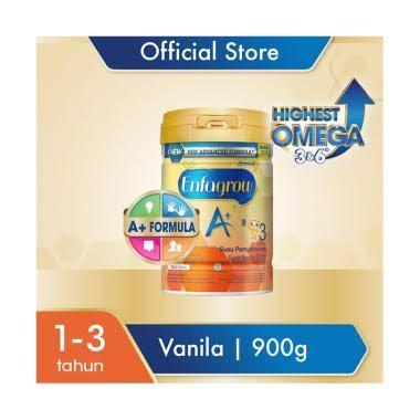 Enfagrow A+ 3 Vanilla Susu Formula [900 g]