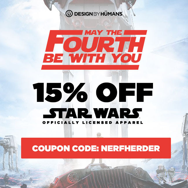 15% off Star Wars apparel!