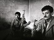 Kurdští ozbrojenci v severním Iráku (1993)