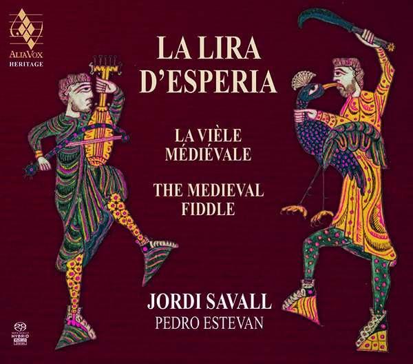 La Lira D'esperia - Savall, Jordi / Pedro Estevan - Musik - ALIA VOX - 8435408099424 - February 26, 2021