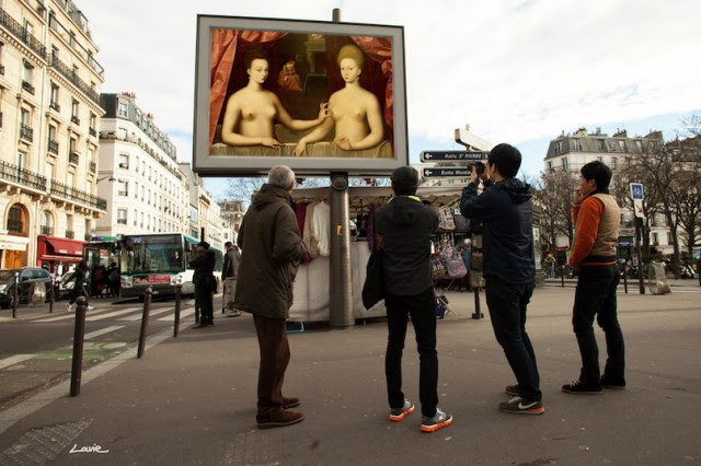 Artist-Replaces-Billboard-Ads-with-Classic-Art-in-Paris-11-640x426