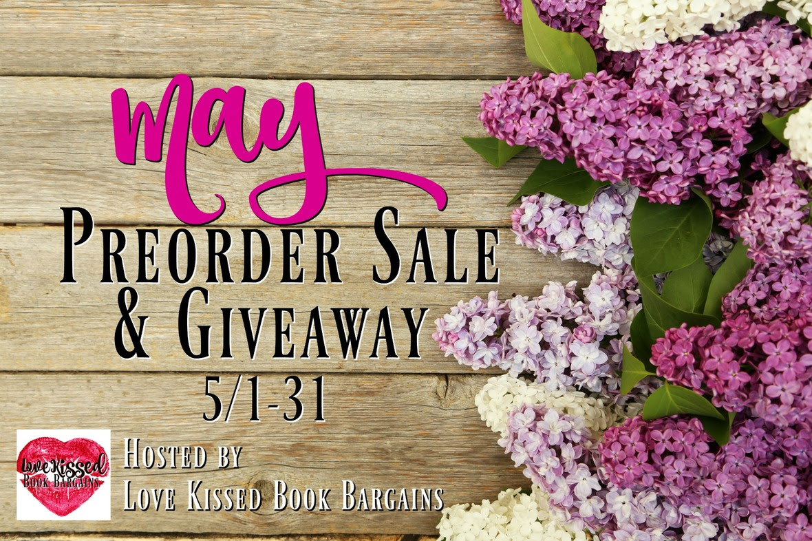 May Preorder Sale   Giveaway