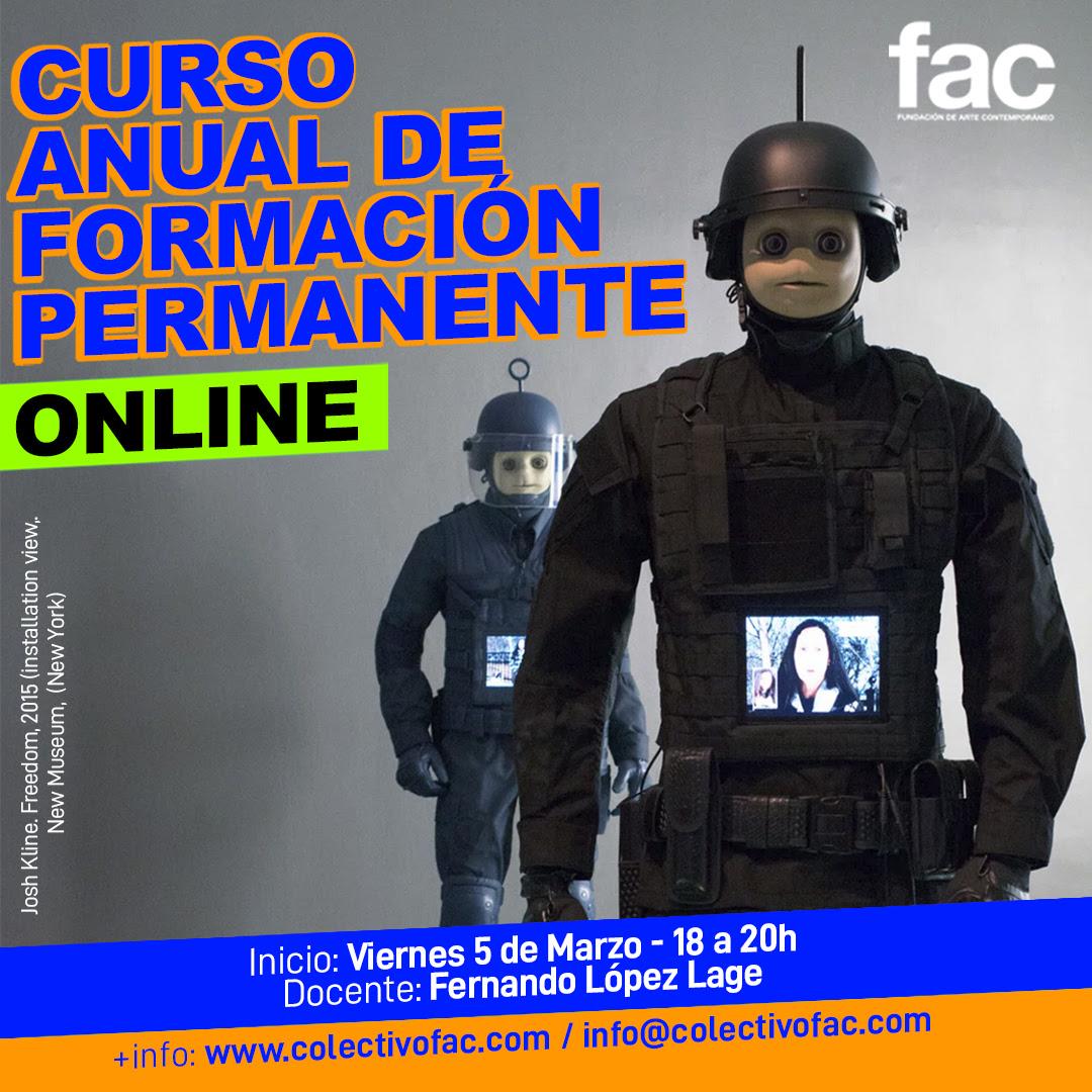 Curso anual de formación permanente - Online | Docente: Fernando López Lage