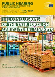 Task force on agricultural markets