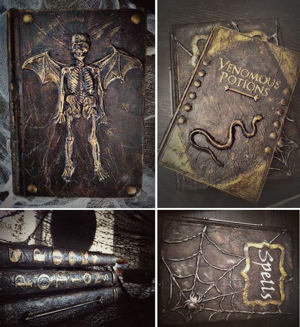 Image result for diy spell books