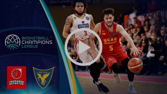 Juventus Utena v UCAM Murcia - Highlights - Basketball Champions League