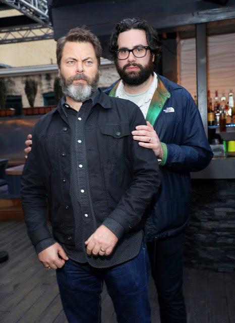 Nick offerman and Brett Haley Hero SXSW credit Sara Jaye Weiss