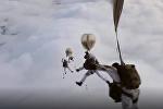 A prueba de todo: los paracaidistas militares rusos protagonizan una serie de maniobras