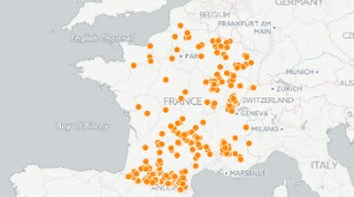 Ces 297 communes qui ont laissé le Front national sans voix