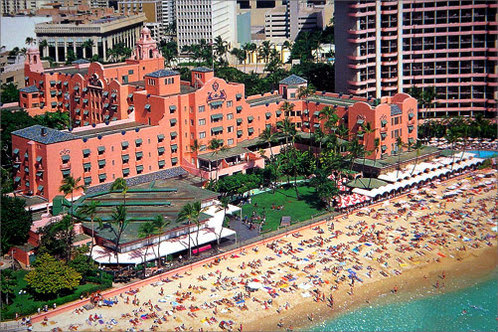 Image result for Royal Hawaiian Hotel
