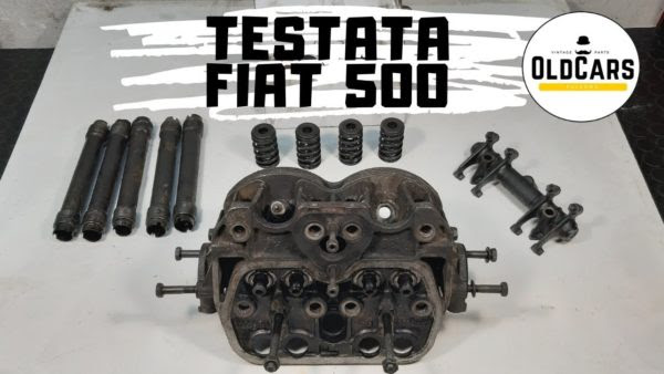 Smontare la testata della Fiat 500 d'epoca