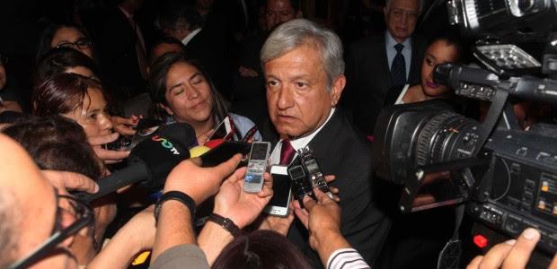 Andrés Manuel López Obrador, líder del Morena. Foto: Benjamin Flores