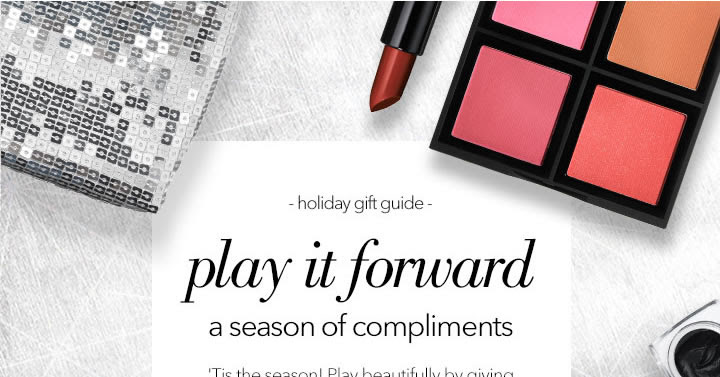 Give gorgeous gifts: the e.l.f...