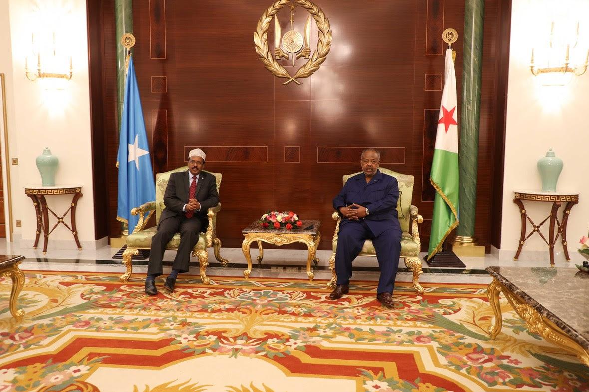 Madaxweynayaasha Somalia iyo Jabuuti oo kulmay-4