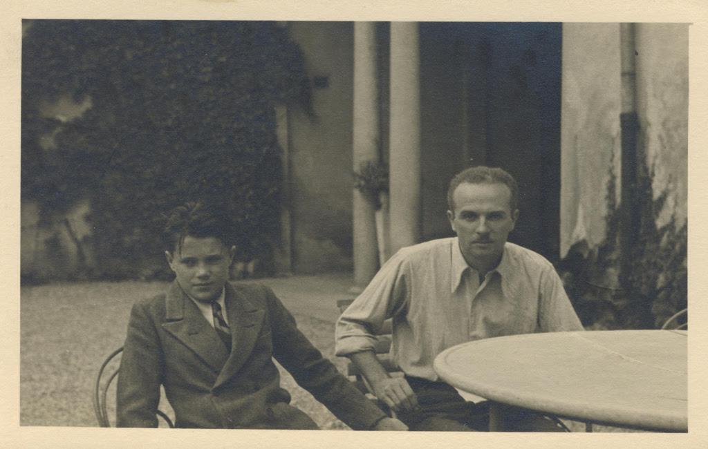 Adolfo Pini e Renzo Bongiovanni Radice - Immagine d'archivio della Fondazione Adolfo Pini, Milano