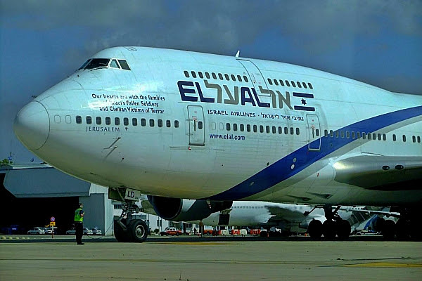 El Al airlines, the national airline of Israel
