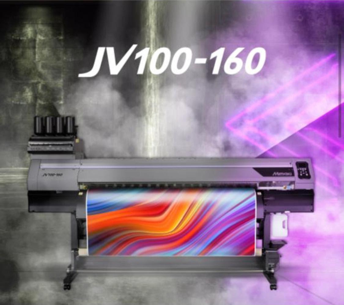 Introducing the brand new  JV100-160 Eco-Solvent Printer