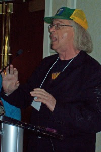 bill bissett received the Sheri D. Wilson Golden Beret Award for his influence and impact on spoken word in Canada.