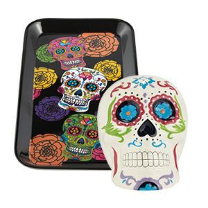 $4 off $8 in Dia De Los Muertos or Halloween Tabletop and Décor