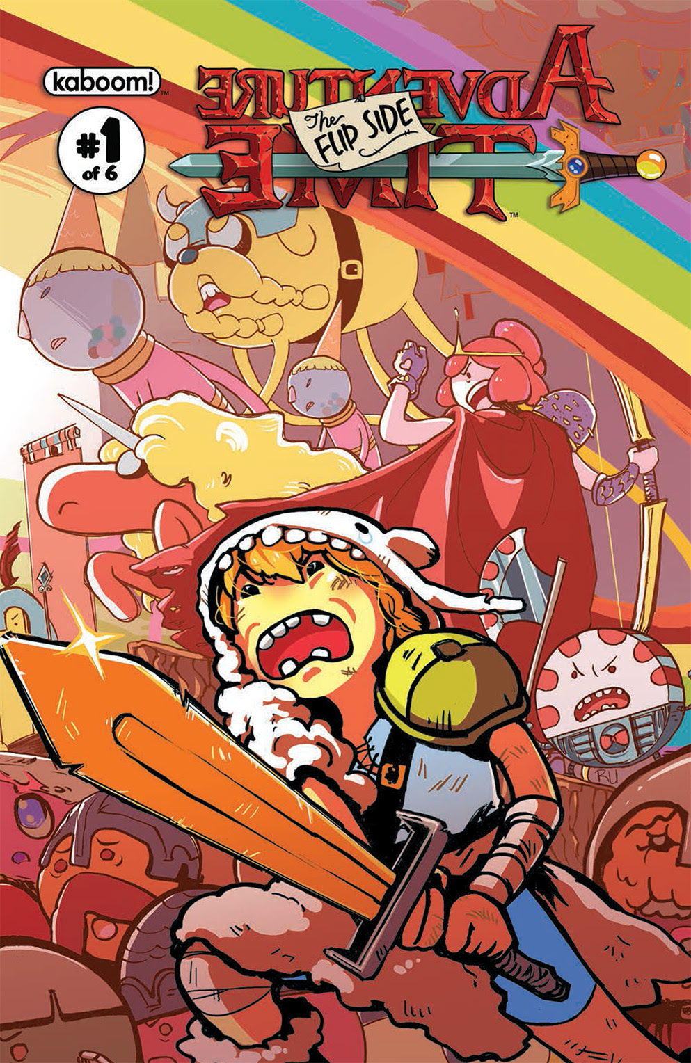 Adventure Time: The Flip Side #1 Cover B