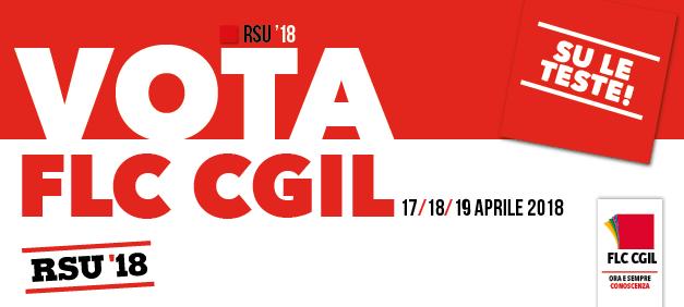 Elezioni RSU 2018: vota FLC CGIL