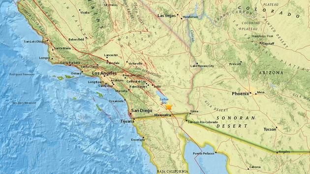 Quake Swarms 250 Earthquakes Near California-Mexico Border Making Scientists Concerned (Video)