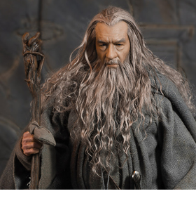 LORD OF THE RINGS CROWN SERIES GANDALF 1/6 SCALE FIGURE