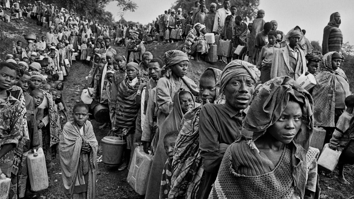 O genocídio de Ruanda, no olhar do mestre da fotografia Sebastião Salgado