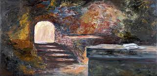 Image result for sunrise resurrection painting tomb
