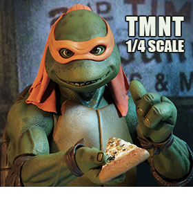 TMNT MICHELANGELO 1/4 SCALE FIGURE