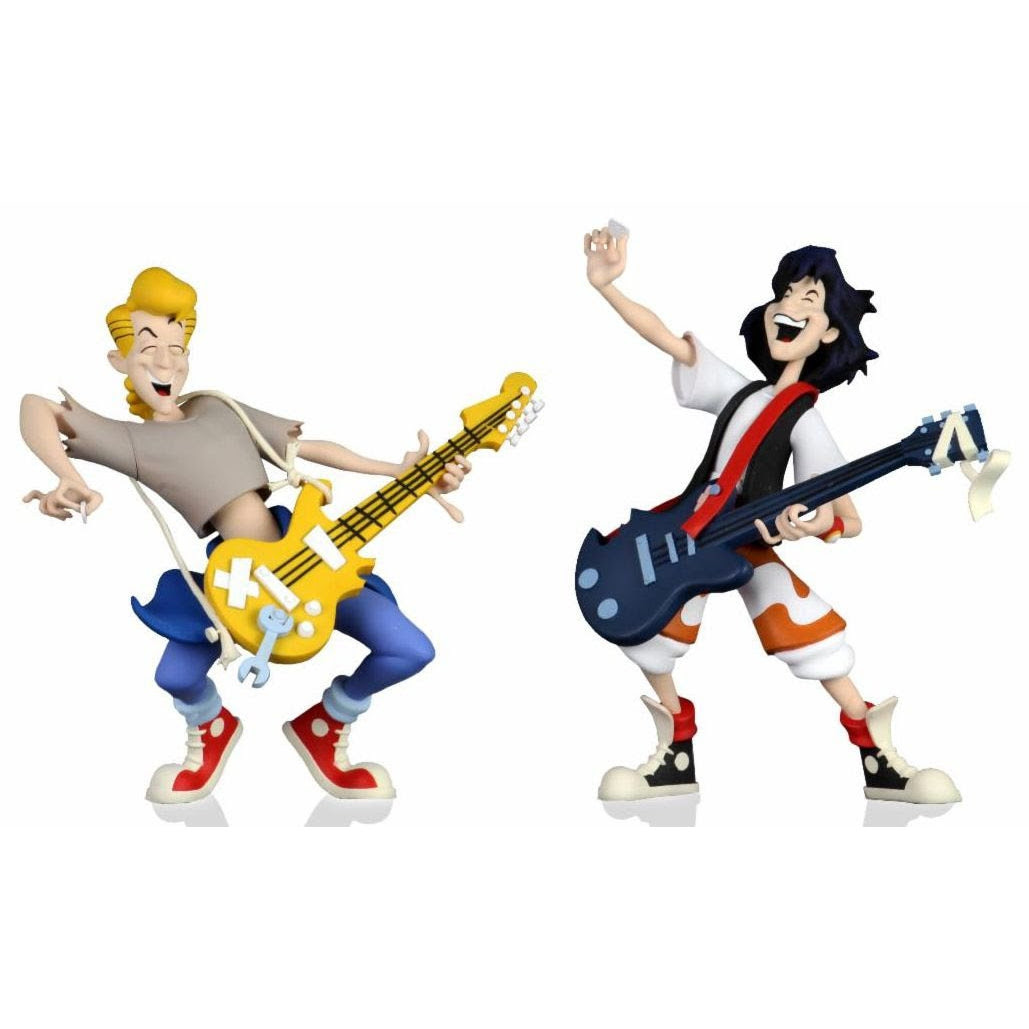 """Image of Bill and Ted's Excellent Adventure – 6"""" Scale Action Figure – Toony Classics Bill and Ted 2-Pack - JULY 2020"""