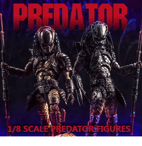 PREDATOR 2 1/18 SCALE ACTION FIGURES