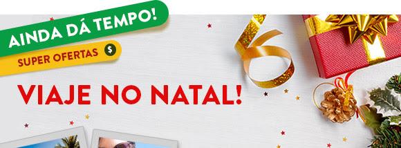 AINDA DÁ TEMPO! Viaje no Natal em até 10x sem juros