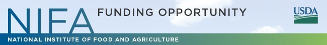 u s d a - national institute of food and agriculture - funding opportunity