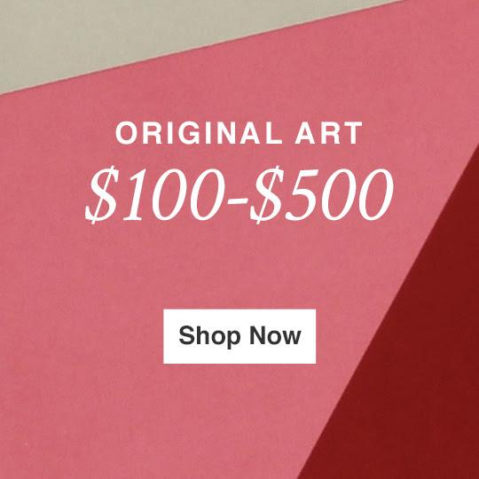 ARTE ORIGINAL PARA US $ 100 - US $ 500
