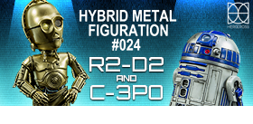 STAR WARS HYBRID METAL FIGURATION