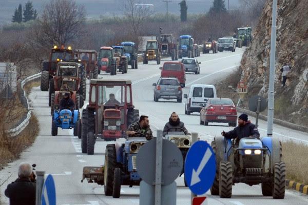 Ζεσταίνουν τα τρακτέρ οι αγρότες -  Μπλόκο στις 22 Ιανουαρίου στον νέο Ε65
