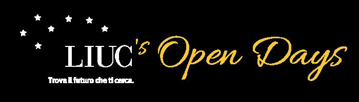 logo LIUC's Open Days